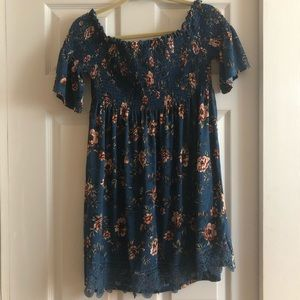 NWT. Xhilaration off-the-shoulder dress